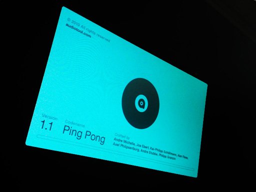 Audiotool 1.1 Ping Pong