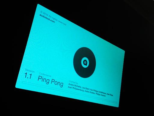 Audiotool 1.1 Ping Pong